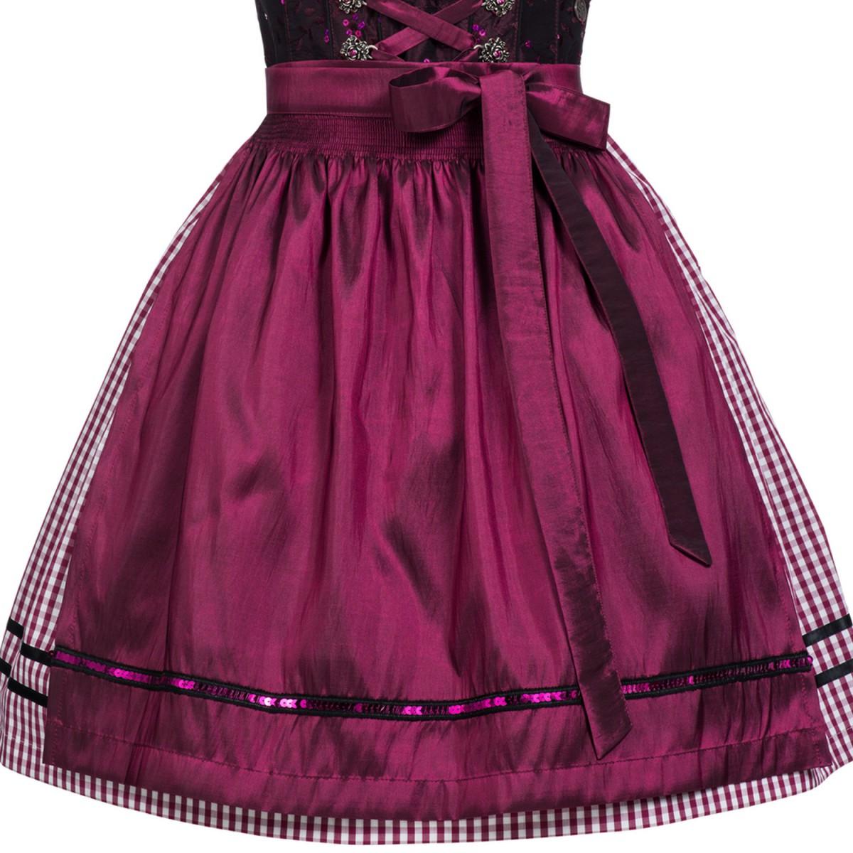Mini dirndl susetta lila von marjo trachten ebay for Trachten finest