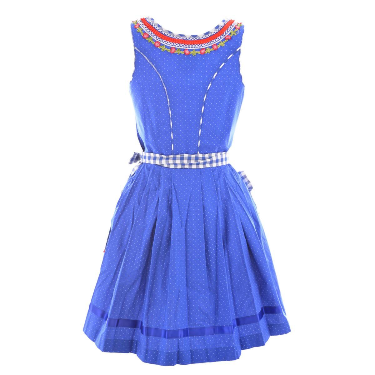 Mini dirndl jody in blau von marjo trachten ebay - Trachten finest ...