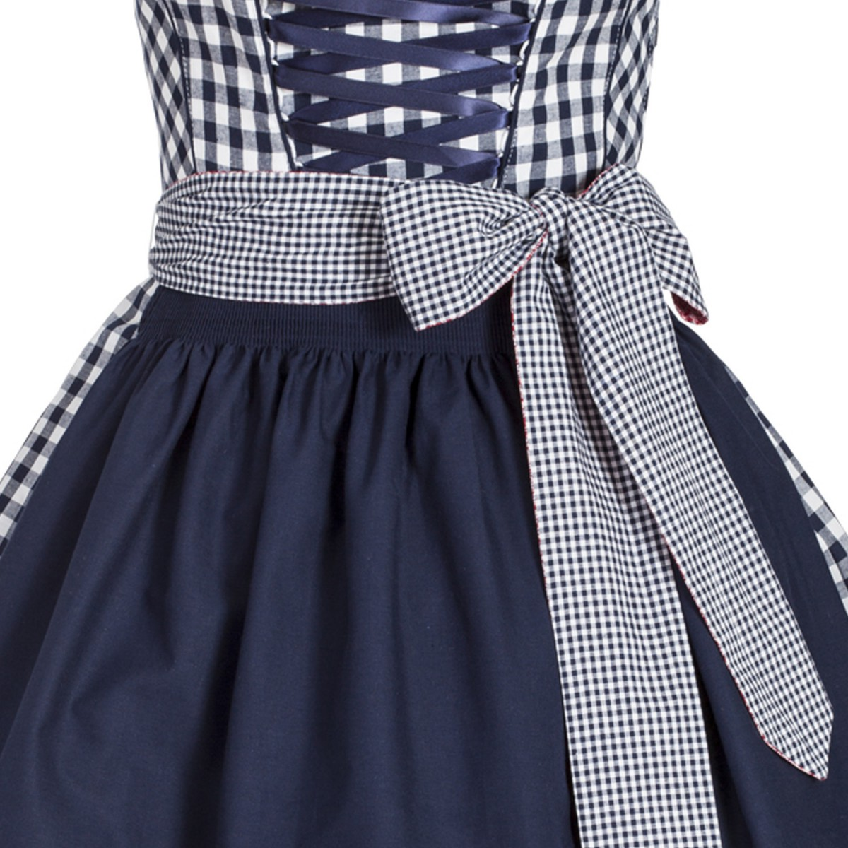 mini dirndl christl in blau von country line ebay. Black Bedroom Furniture Sets. Home Design Ideas