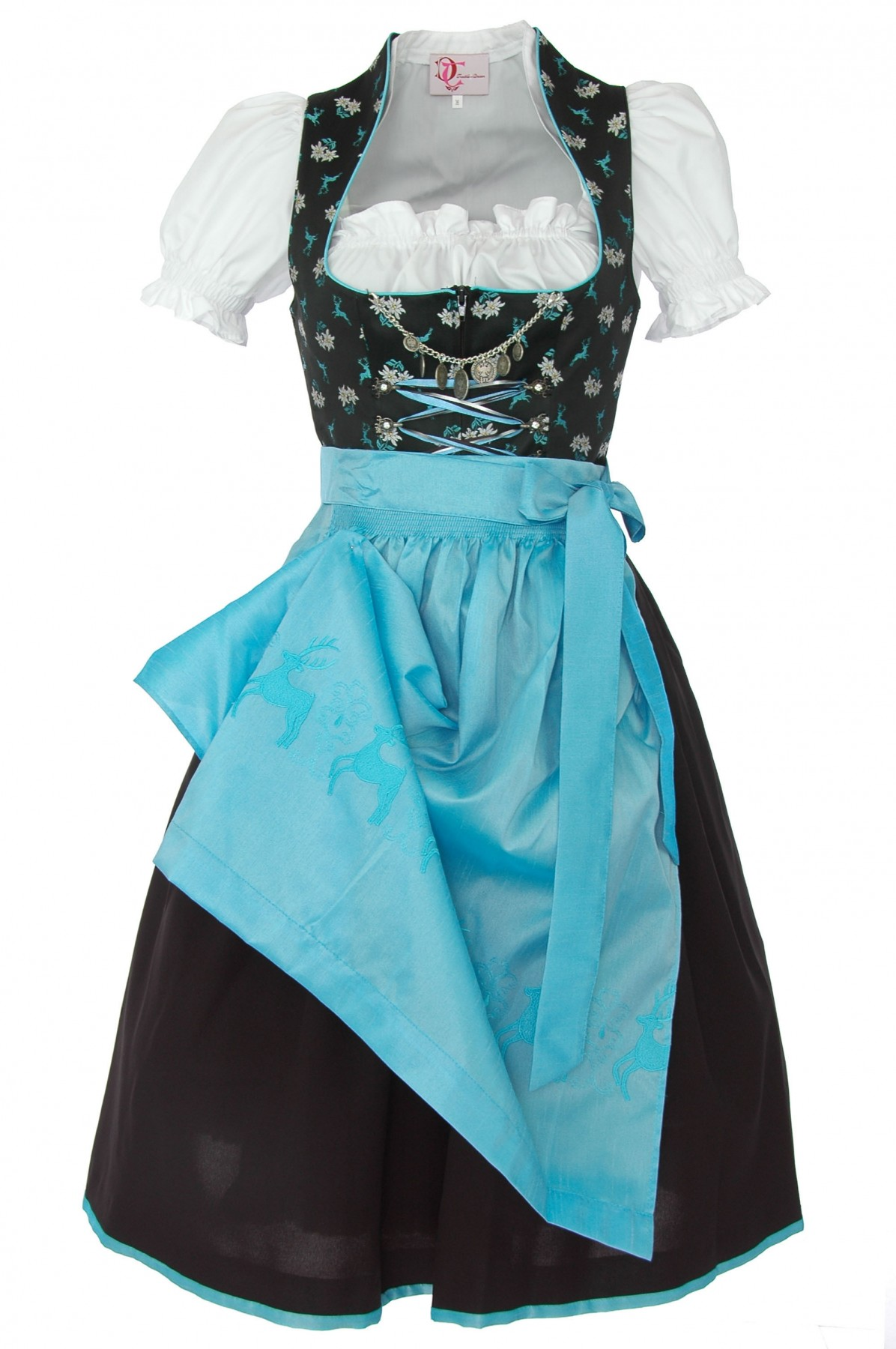 Dirndl Nicki in schwarz von Turi Landhausmode  eBay