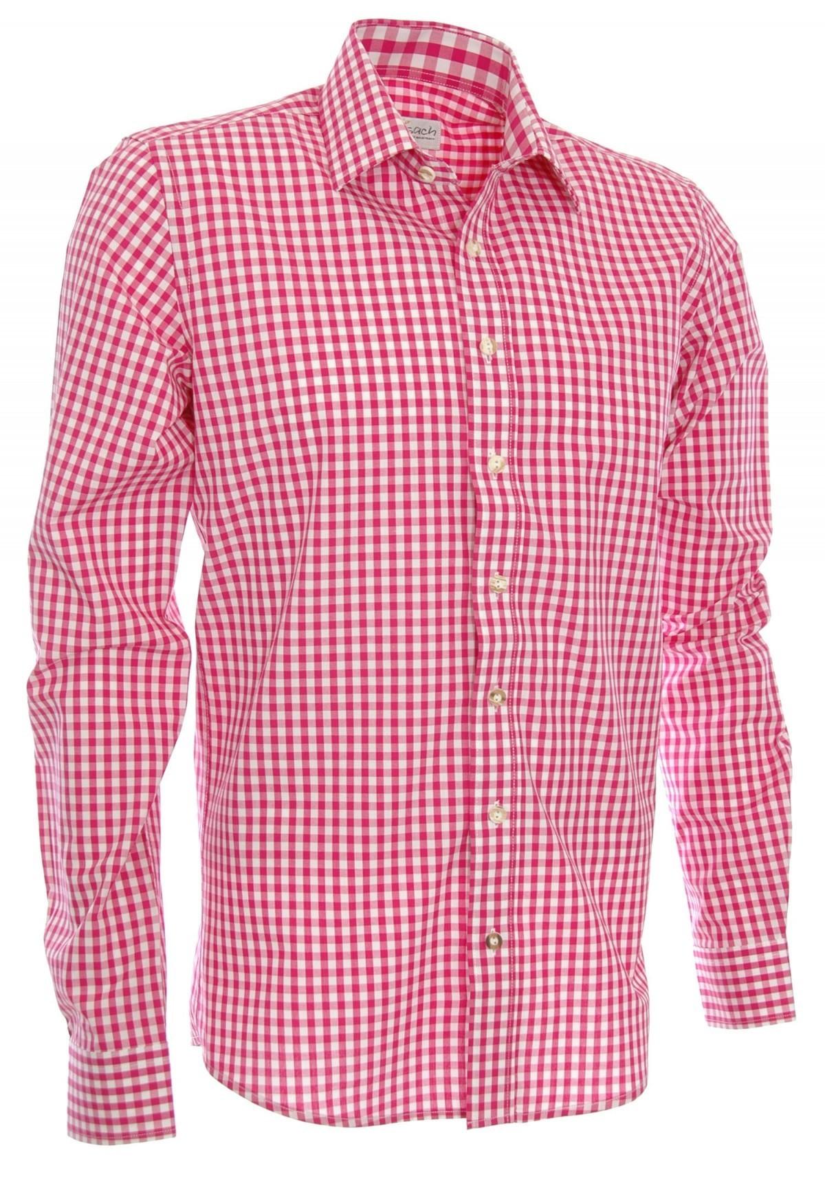 Trachtenhemd in pink