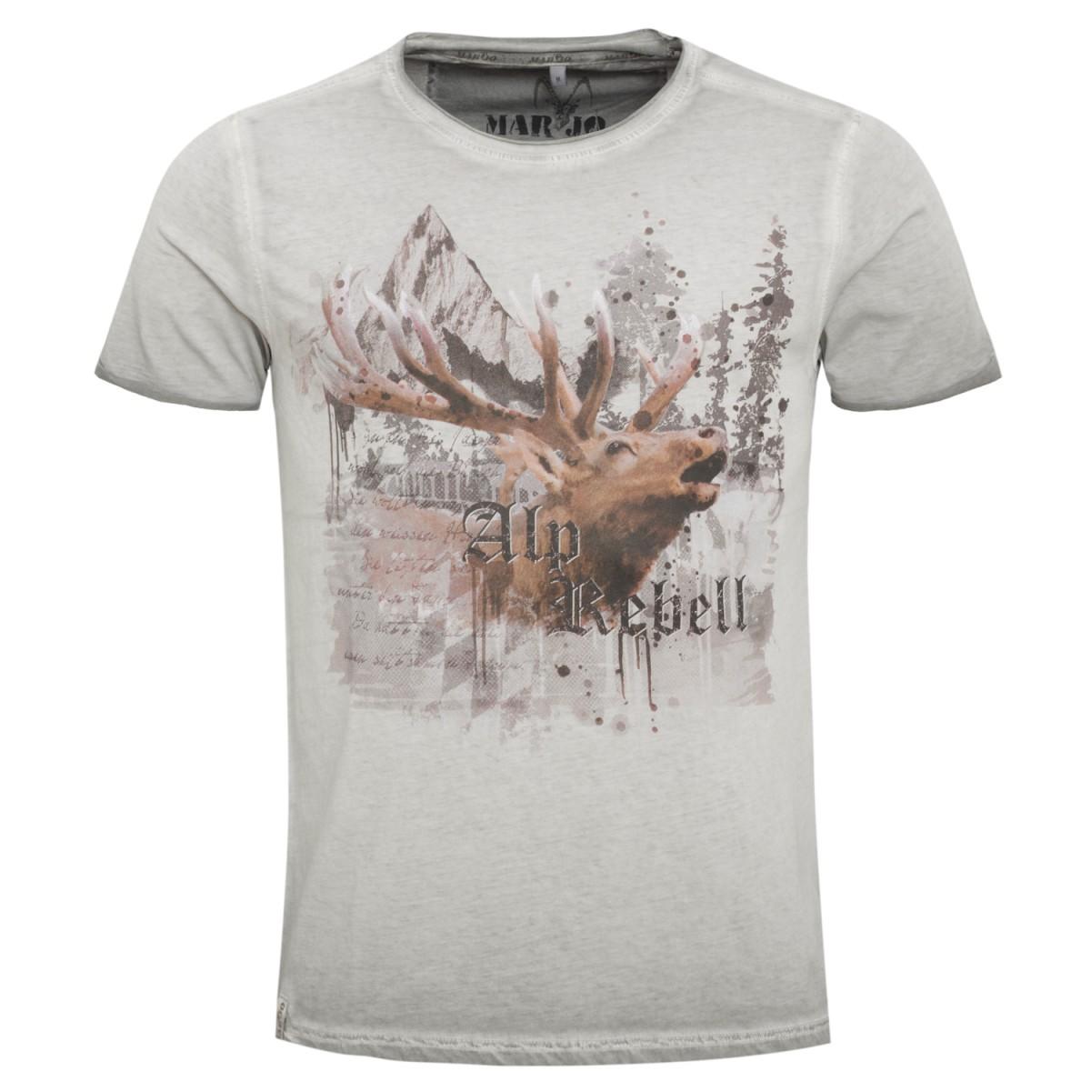 Graues Herren T-Shirt
