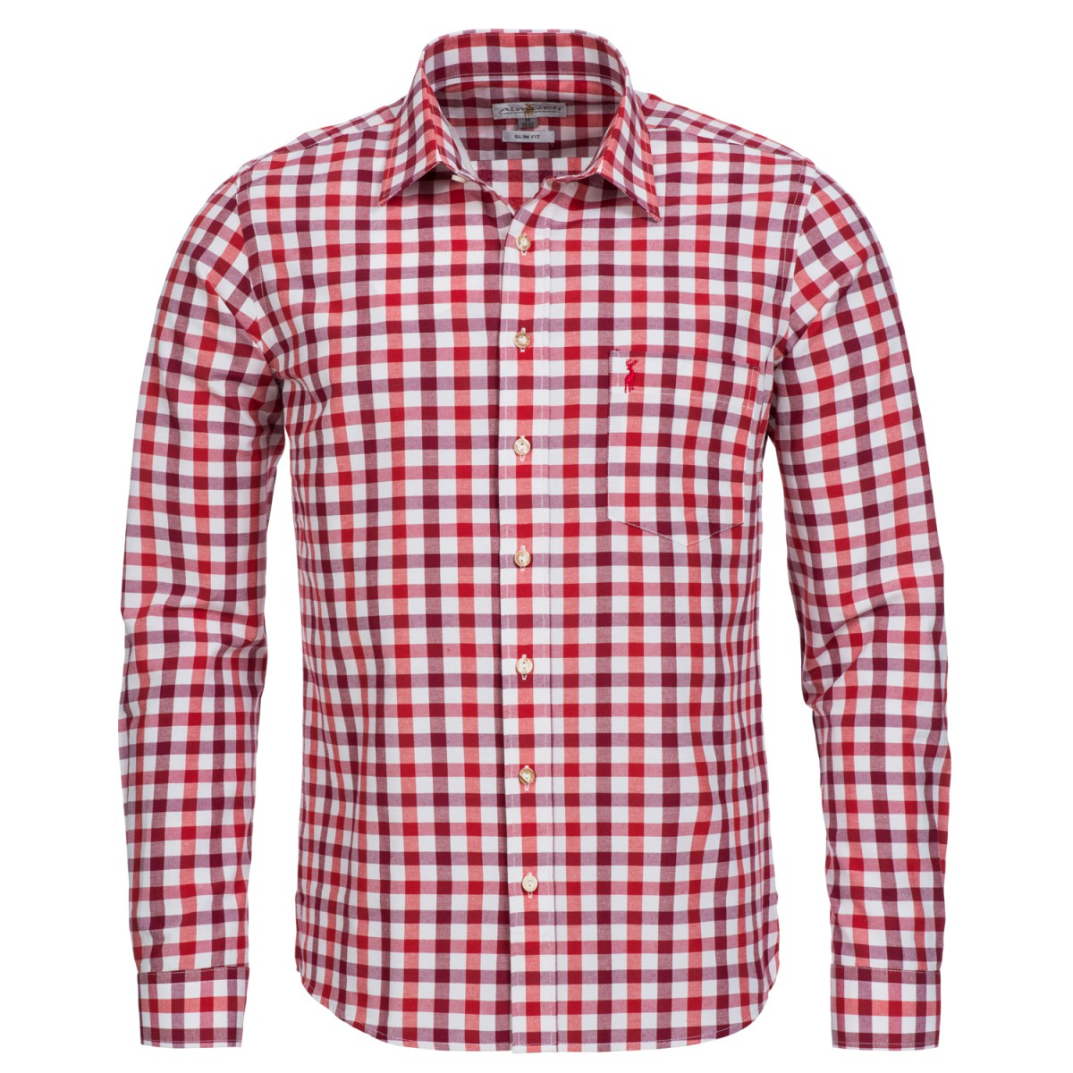 rotes Trachtenhemd von Almsach