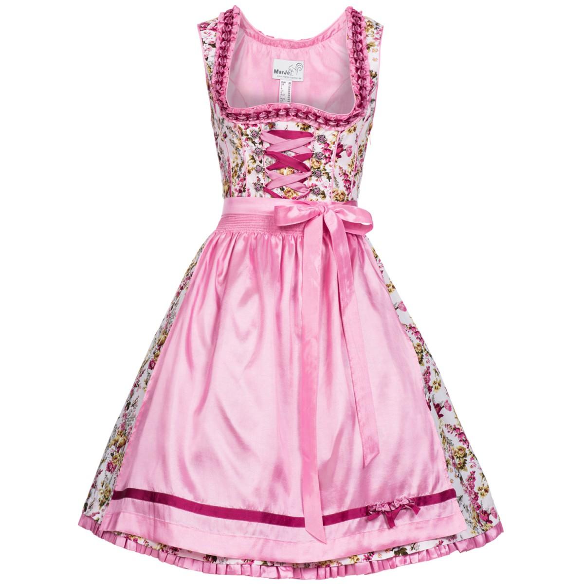 rosa Dirndl Gisele von Marjo Trachten