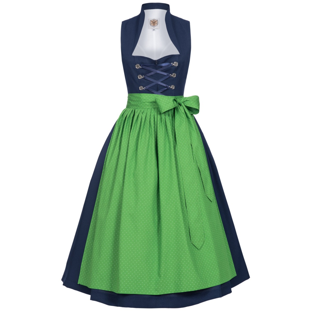 Blaues Dirndl Bewett vonApple of my Eye