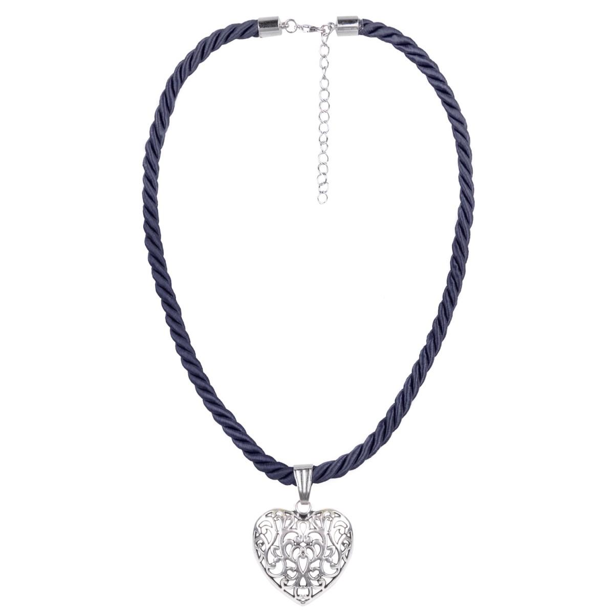 blaue Kordelkette von Schlick Accessoires