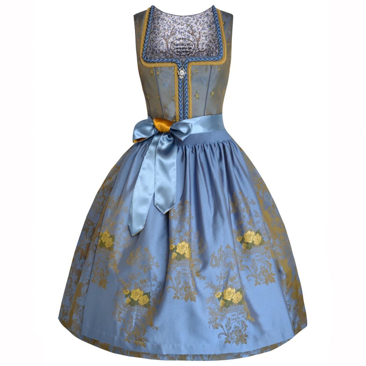 Blaues Dirndl Alice von Tramontana