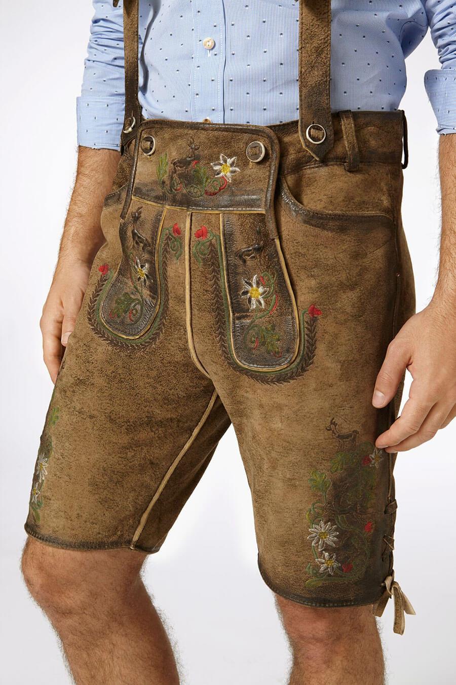 Trachtenhosen für Herren - die Lederhose