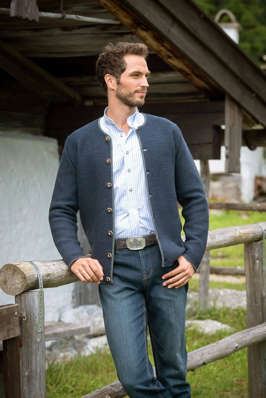 Trachtenhose für Herren - die Jeans
