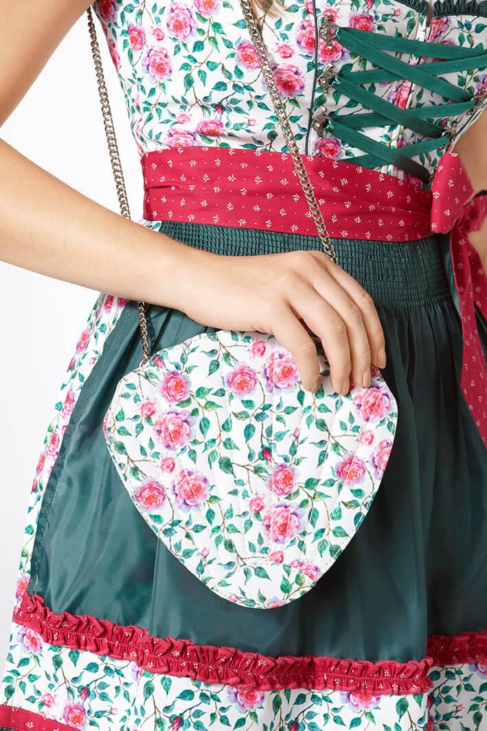 Muster einer Trachtenhandtasche